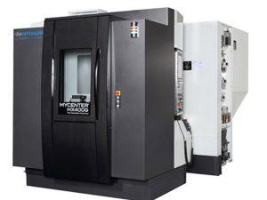 Centres horizontaux KITAMURA HX400iG Transtec Machines Outils Centres d'usinage horizontaux pour l'usinage de pièces complexes en plusieurs posages pour de la productivité KITAMURA HX400iG