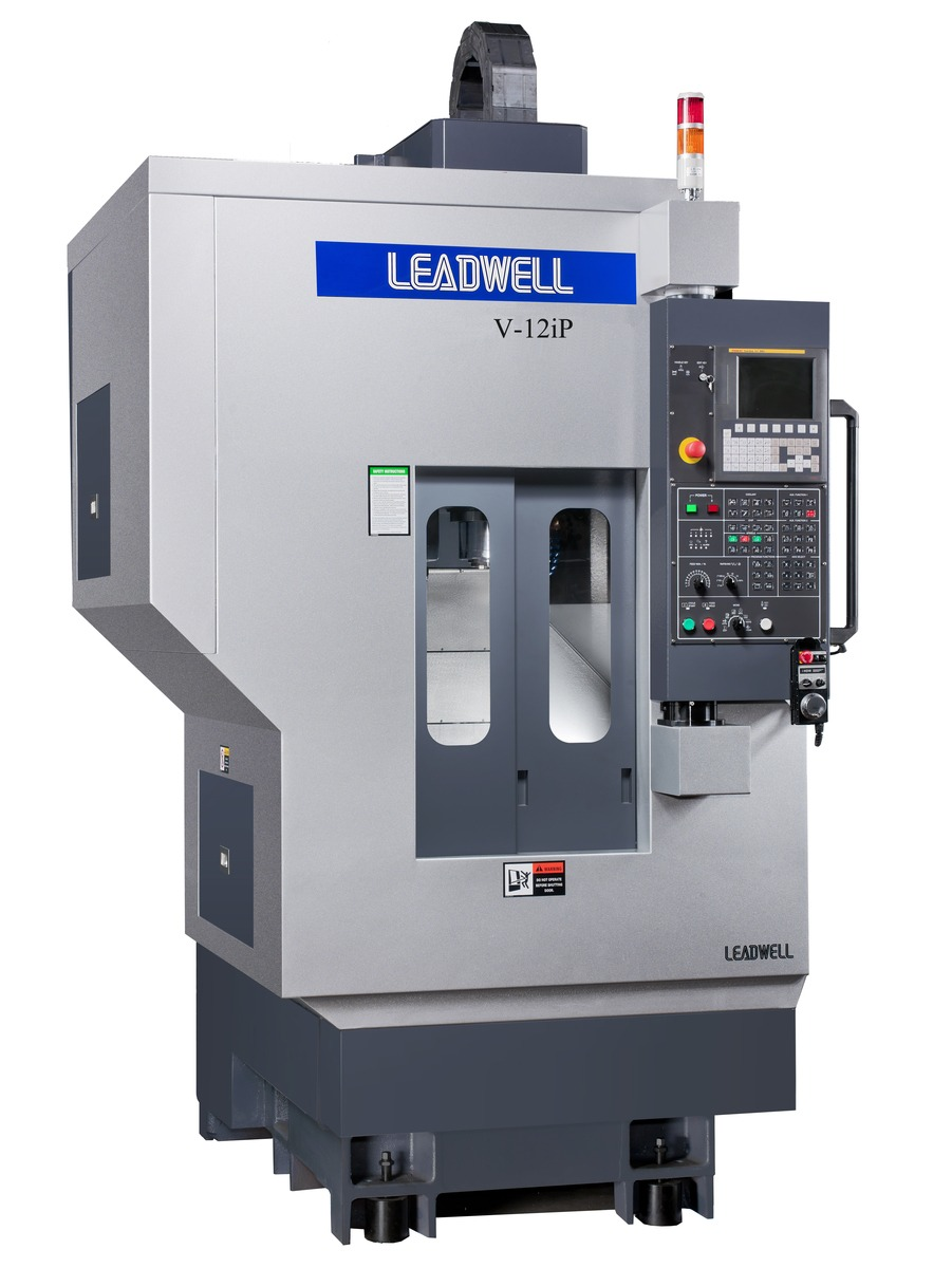 Centre d'usinage vertical Leadwell V-12iP par TRANSTEC MACHINES OUTILS