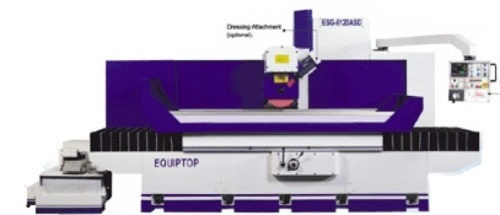 Rectifieuse plane EQUIPTOP ESG 8300 ASDII Transtec Machines Outils