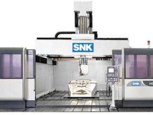 Fraisage à portique 5 axes SNK HGM-2500 Transtec Machines Outils