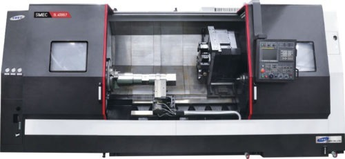 Tours Monobroche axe Y SMEC - SAMSUNG SL 4500LY Transtec Machines Outils