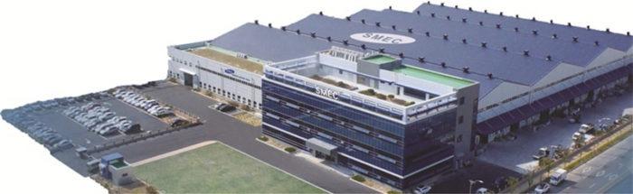 Bâtiments de SMEC Samsung