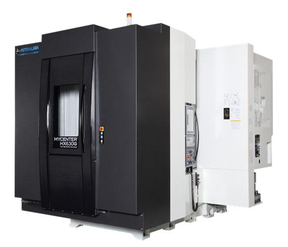 Centres d'usinage horizontaux pour l'usinage de pièces complexes en plusieurs posages pour de la productivité KITAMURA HX630G