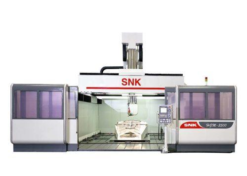 Fraisage à portique 5 axes SNK HGM-4000 Transtec Machines Outils