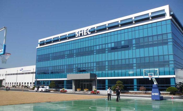 Bâtiment de production SMEC Samsung