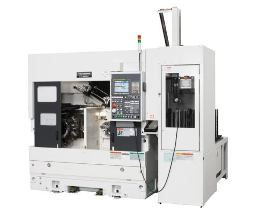 Tours bi broches frontaux TAKISAWA TT-2100G - TT-2100CMG Transtec Machines Outils