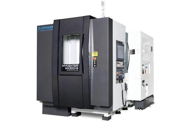 Centres d'usinage horizontaux pour l'usinage de pièces complexes en plusieurs posages pour de la productivité KITAMURA HX300iG