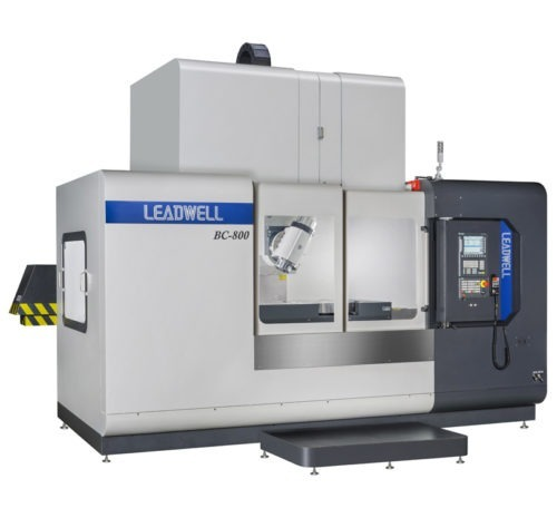 Centre Vertical 5 Axes Pendulaire LEADWELL BC-960 Transtec Machines Outils