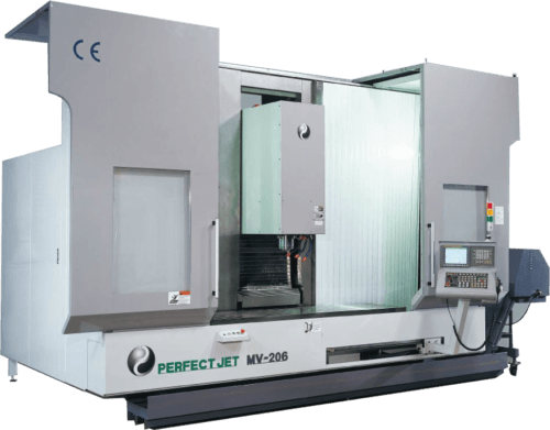 Centre Vertical Pendulaire PERFECT JET MV-608 Transtec Machines Outils