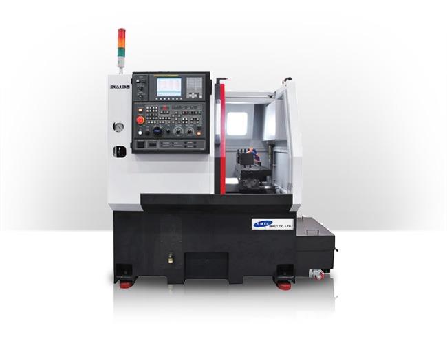TRANSTEC MACHINES OUTILS présente le Tour CNC Gangtype SAMSUNG SMEC PL1300G (1)