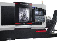 Tours bi broches axe Y Passage en barre 76 mm CC Machinery Tour Bi-Broches Axe Y Transtec Machines Outils