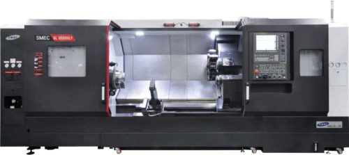 Tours Monobroche axe Y SMEC - SAMSUNG SL 3500XLY Transtec Machines Outils