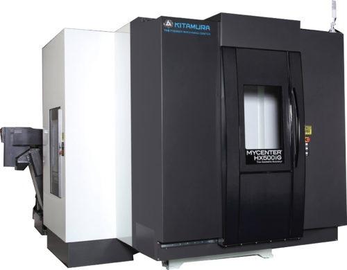 Centres horizontaux KITAMURA HX500iG#50 Transtec Machines Outils Centres d'usinage horizontaux pour l'usinage de pièces complexes en plusieurs posages pour de la productivité KITAMURA HX500iG#50